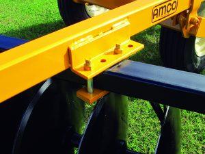 D41 Wheel Offset Harrow adjustable gang angle