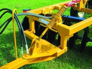 D41 Wheel Offset Harrow adjustable tongue stabilizer