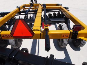 J42 Wheel Offset Harrow