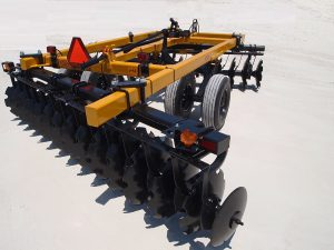J42 Wheel Offset Harrow
