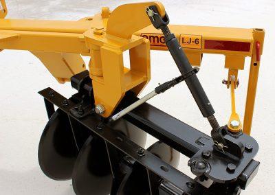 Levee Plow adjustable width