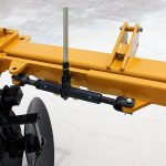 Levee Plow manual depth control