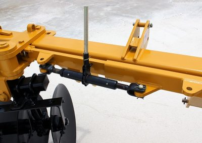 Levee Plow manual depth control