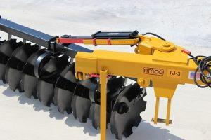 Terracing Plow Dial-a-Depth depth control