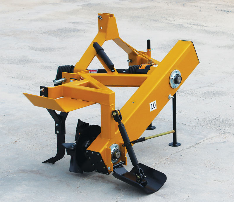 Rotary drainage ditchers for agricultural water management