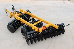 Aerial view of G2 Wheel Offset Harrow