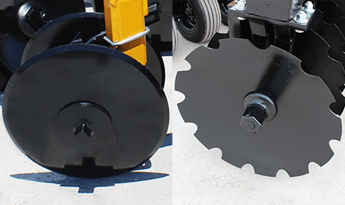 cutout vs. smooth blades
